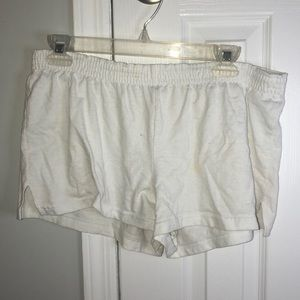 Soffe white shorts